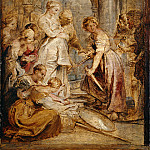 Peter Paul Rubens - Achilles and the Daughters of Lykomedes - 1617 - 1618