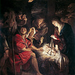 Peter Paul Rubens - Peter Paul Rubens -- Adoration of the Shepherds