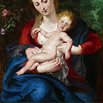 Rubens Virgin and Child 1620 4, Peter Paul Rubens