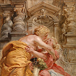 Peace Embracing Plenty -- between 1633 and 1634, Peter Paul Rubens