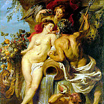 The Union of Earth and Water, Peter Paul Rubens