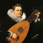 The lute player, by Peter Paul Rubens . -- , Peter Paul Rubens