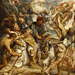 Peter Paul Rubens - The Martyrdom of Saint Livinus -- (1633-1635)