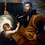 Peter Paul Rubens - Pieter Paul Rubens (1577-1640), Allegory on Charles V of Habsburg (1500-1558) as Ruler of the World, 1607. --