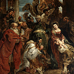 Adoration of the Kings – 1624, Peter Paul Rubens