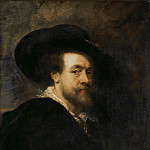 Peter Paul Rubens - Автопортрет (приписывается Рубенсу)