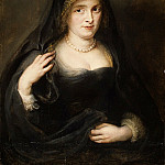Portrait of a Woman, Probably Susanna Lunden, Peter Paul Rubens