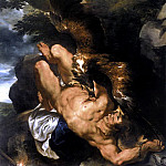 Prometheus Bound - 1610- 1612, Peter Paul Rubens
