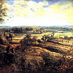 Peter Paul Rubens - An Autumn Landscape with a View of Het Steen - Летний пейзаж с видом Хет Стина - 1635