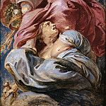 Bounty of James I triumphing over Avarice -- , Peter Paul Rubens