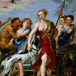 Peter Paul Rubens - Peter Paul Rubens, European; Flemish, 1577-1640, (artist) -- Diana and Her Nymphs Departing for the Hunt
