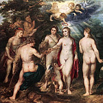 Peter Paul Rubens - The Judgment of Paris - 1625