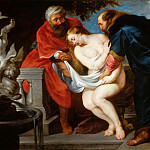Peter Paul Rubens - Attributed to Peter Paul Rubens -- Susanna and the Elders (Susanna Bathing)