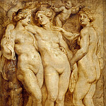 Rubens, Peter Paul -- Title: The Three Graces, Peter Paul Rubens