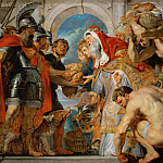 Peter Paul Rubens - Abraham and Melchisedech (Genesis 14:17-20)