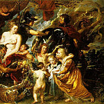 Allegory of Peace - Peace And War - 1629 - 1630, Peter Paul Rubens