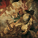 Peter Paul Rubens -- Saint Michel terrassant les anges rebelles, Peter Paul Rubens