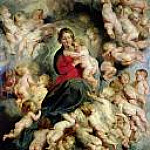 The Virgin and Child surrounded by the Holy Innocents, Peter Paul Rubens