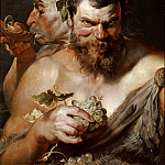 Peter Paul Rubens - Two Satire - 1618 - 1619