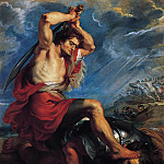 Peter Paul Rubens - David Slaying Goliath, c. 1616 --
