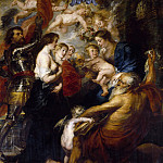 Peter Paul Rubens - Our Lady with the Saints - 1634