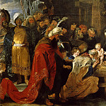 Peter Paul Rubens - Adoration of the Magi - 1618 - 1619