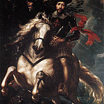 Peter Paul Rubens - Equestrian Portrait of Giancarlo Doria - 1606