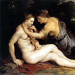 Jupiter and Callisto - 1611, Peter Paul Rubens