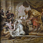 Peter Paul Rubens - Esther and Ahasuerus [After]