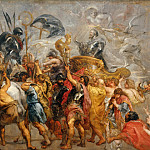 Peter Paul Rubens -- Triumph of Henry IV , Peter Paul Rubens