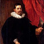 Rubens Peter Paul Portrait Of A Man Probably Peter Van Hecke, Peter Paul Rubens