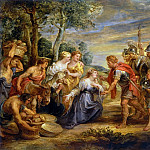 Peter Paul Rubens - The Meeting of David and Abigail - 1630