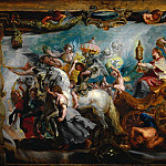 Peter Paul Rubens - Peter Paul Rubens, European; Flemish, 1577-1640, (artist) -- The Triumph of the Church