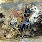 Peter Paul Rubens - Lion Hunt