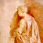 Study for a Standing Female Saint - 1607, Peter Paul Rubens