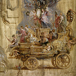 Triumphal Car of Kallo – 1638, Peter Paul Rubens