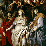 St Domitilla with St Nereus and St Achilleus, Peter Paul Rubens