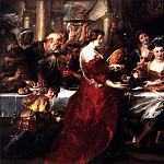 The Feast of Herod - 1633, Peter Paul Rubens