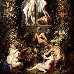 Peter Paul Rubens - Three Graces, adorning Nature - 1615