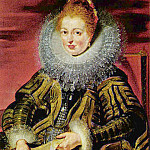Isabella , Regent of the Low Countries – 1609, Peter Paul Rubens