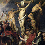 Christ on the Cross between the Two Thieves - 1620, Peter Paul Rubens