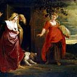 Care Hagar from Abrahams house, Peter Paul Rubens