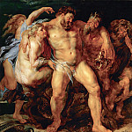 Peter Paul Rubens - The Drunken Hercules - Пьяный Геракл - 1611