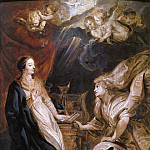 Annunciation, Peter Paul Rubens