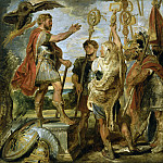Decius Mus Addressing the Legions - 1616, Peter Paul Rubens