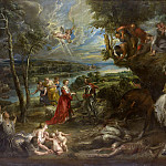 Landscape with Saint George and the Dragon - 1630, Peter Paul Rubens
