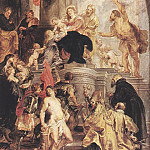 Bethrotal of St Catherine - 1628, Peter Paul Rubens