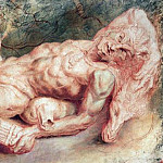 Peter Paul Rubens - Pan Reclining - 1610