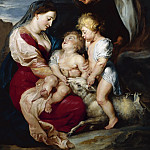 The Virgin and Child with St Elizabeth and the Infant St John the Baptist – 1615, Peter Paul Rubens