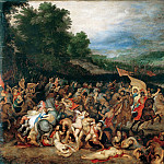Peter Paul Rubens - The Battle of the Amazons - Битва с амазонками - 1600